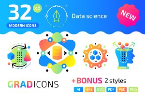 32+ Data science : : GRADICONS