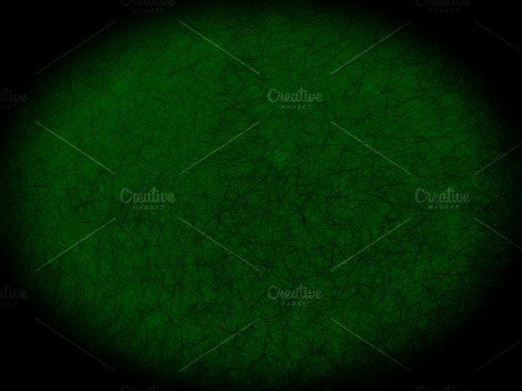 Vignette Evil Green Strokes Backdop