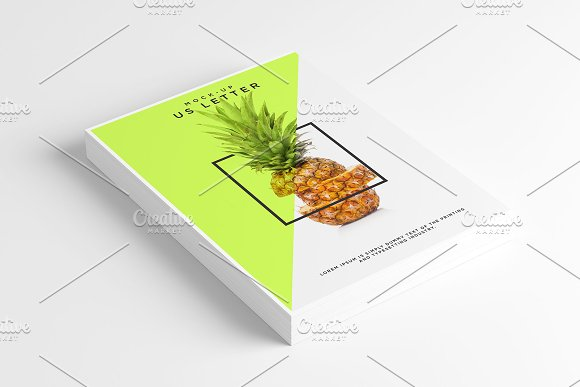 Download Us Letter Flyer Mockup
