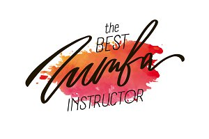 Zumba Lettering