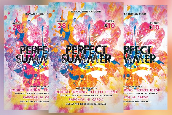 Perfect Summer Flyer
