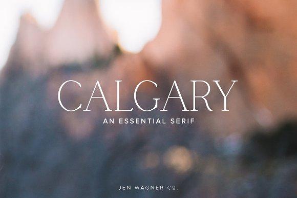 Calgary An Essential Serif