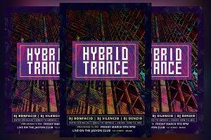 Hybrid Trance Flyer
