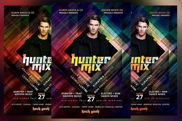Hunter Mix Flyer