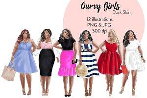 Curvy Girls - Dark skin
