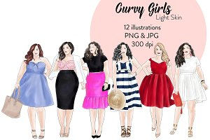 Curvy Girls - Light Skin