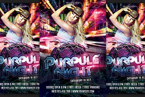 Purpule Night Party