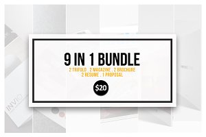 9 In 1 Template Bundle