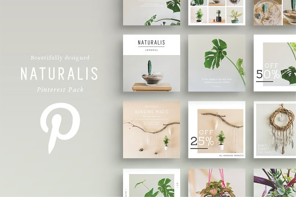 NATURALIS Pinterest Pack