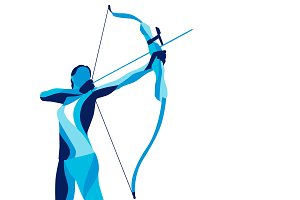 Stylized archery, sports archery