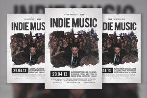 Indie Music Flyer & Poster