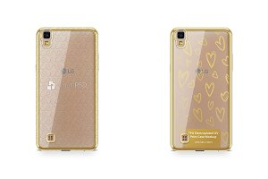 LG X Power TPU Electroplated Case