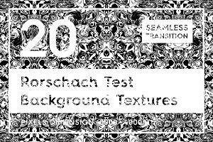 Rorschach Test Background Textures