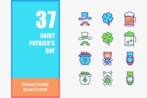 Saint Patrick's Day Icons