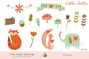 Little Folks | Vector File
