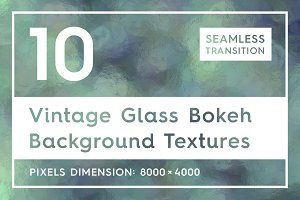 Vintage Glass Bokeh Backgrounds