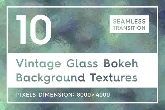 Vintage Glass Bokeh Backgrounds