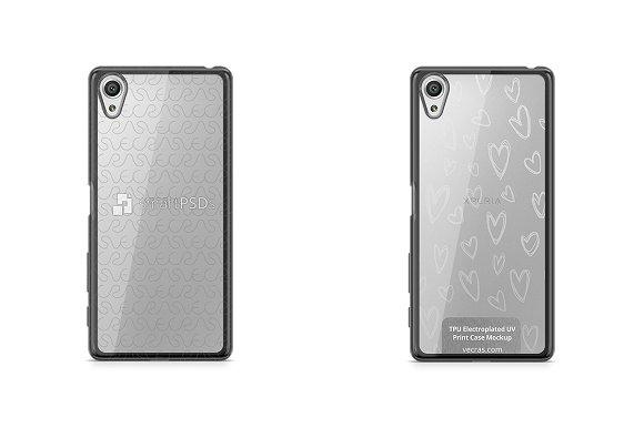 Sony Xperia X TPU Electroplated Case