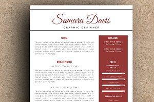The Samara Resume Pack
