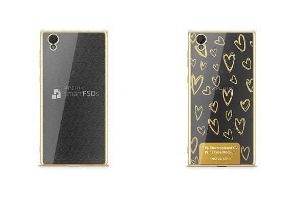 Sony Xperia L1 TPU Electroplated