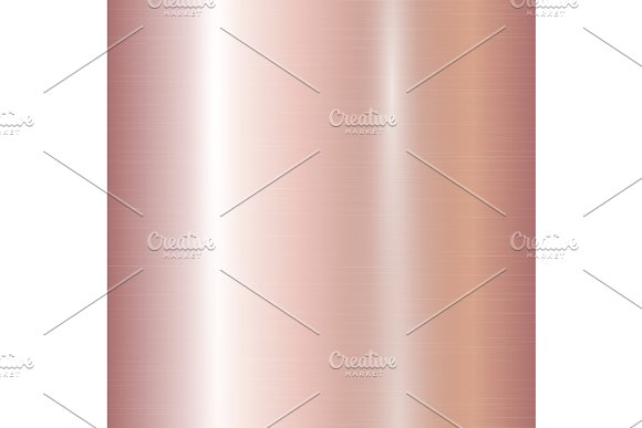Gradient Of Rose Gold