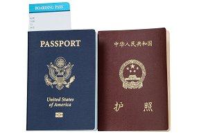USA and China Passports