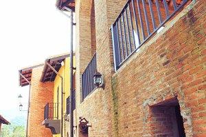 Vintage Italian village