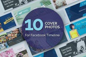 10 Editable Facebook Cover Templates