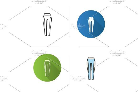 Women's Sports Pants Icon