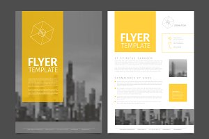 Business corporate brochure flyer
