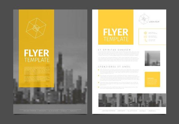 Business Corporate Brochure Flyer