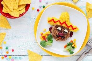 Healthy creative kids food