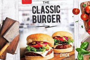 Burger Menu