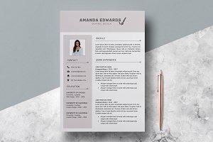 Resume Template Amanda Edwards