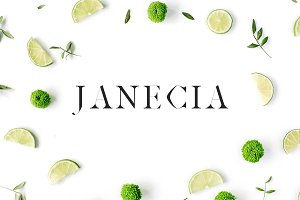 Janecia Serif 3 Font Family Pack