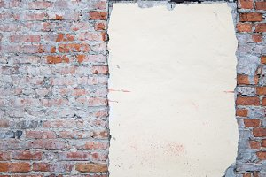 brick background vertical with space
