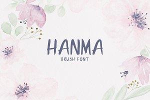 Hanma Brush Font