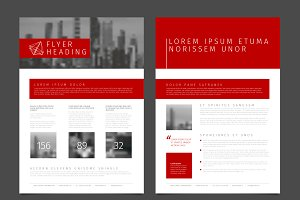 Modern brochure / flyer template