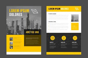 Modern business corporate brochure