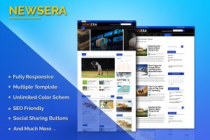 Newsera WordPress Theme