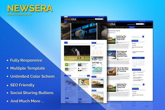 Newsera WordPress Theme