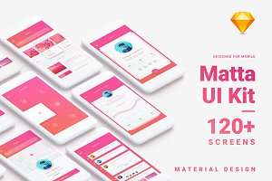 Material Design Mobile UI Kit