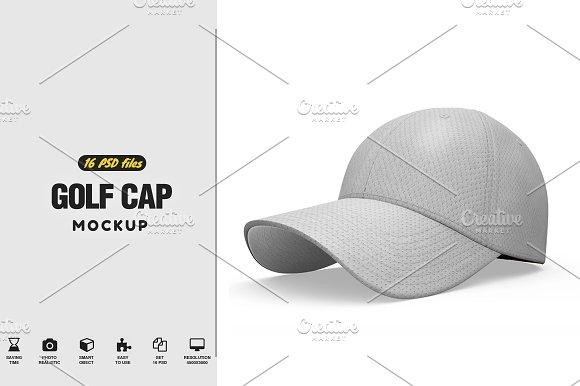 Golf Cap MockUp