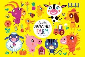 Little animals. FARM