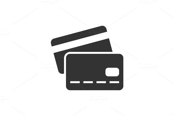 Credit Card Black Icon