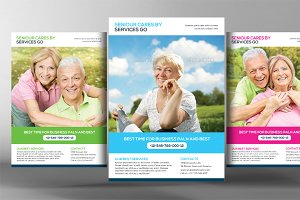 Elderly Care Flyer Template