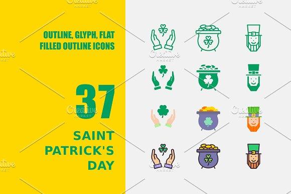 Saint Patrick's Day Icons
