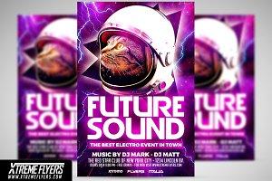 Future Sound Flyer Template