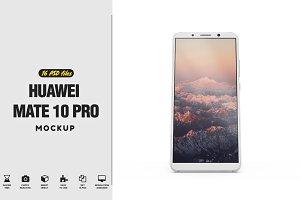 Huawei Mate 10 Pro Vol.2 Mockup