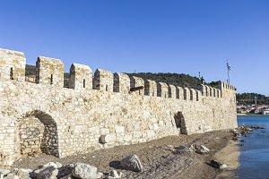 seashore fortress of Nafpaktos, Greece